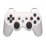 Беспроводной Bluetooth джойстик в стиле DualShock 3 совместимый с PlayStation 3 (Белый)