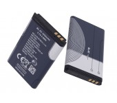 Батарея для Nokia BL-5c 1020 mAh 3.7V для Nokia 2300, 2310, 2600, 2610, 3100, 3109, 3110 Classic, 3120, 3650, 3660, 5300, 6030, 6085, 6230, 6230i, 6270, 6555, 6600, 6630, 6670, 6680, 6681, 6820, 6822, 7600, 7610, E50, E60, N70, N71