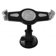 Универсальный автомобильный держатель для планшета 7-11 дюймов с углом поворота 360 градусов (Черный)