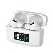 Беспроводные Bluetooth наушники TWS Pro S70 с сенсорным управлением (Белые)
