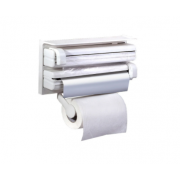 Держатель для кухонных бумажных полотенец 3в1 Triple Paper Dispenser for Kitchen