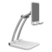 Подставка для телефона и планшета Folding mobile Phone Desktop snand (Белая)