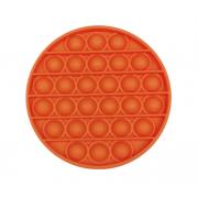 Сенсорная игрушка для детей Pop It (Оранжевая)