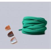 Эластичные шнурки без завязок с металлическим наконечником (Зеленые)