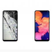 Экран для Samsung Galaxy A10 с заменой экрана (оригинальное качество)
