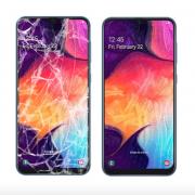 Экран для Samsung Galaxy A50 с заменой экрана (оригинальное качество)