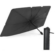 Зонт солнцезащитный для автомобиля (Черный)