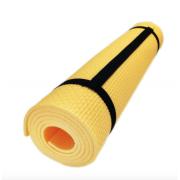 Коврик для йоги и фитнеса Fitness5, 1400x500x5 мм (Желтый)