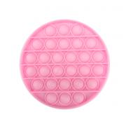 Сенсорная игрушка для детей Pop It (Розовая)