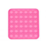 Сенсорная квадратная игрушка для детей Pop It (Розовая)