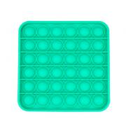 Сенсорная квадратная игрушка для детей Pop It (Зеленая)