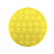 Сенсорная игрушка для детей Pop It (Желтая)