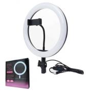 Кольцевая светодиодная лампа LED Ring Fill Light 26 см (Белый)