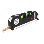 Лазерный уровень-рулетка Fixit Laser Level Pro 3 (Черная)