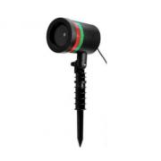 Лазерный светодиодный проектор Laser Light Звездный дождь (Черный)