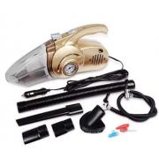 Многофункциональный автомобильный пылесос 4 в 1 Car Vacuum Cleaner (Золотой)