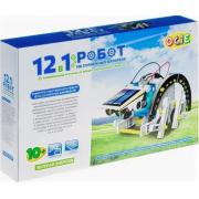 Детский развивающий конструктор Набор 12 в 1 Робот на солнечных батареях