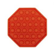 Пузырьковая сенсорная игрушка для детей Pop It (Красная)