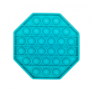 Пузырьковая сенсорная игрушка для детей Pop It (Голубая)