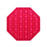 Пузырьковая сенсорная игрушка для детей Pop It (Розовая)