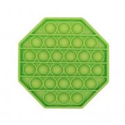 Пузырьковая сенсорная игрушка для детей Pop It (Салатовая)