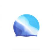 Силиконовая шапочка для плавания SPE 18х22см (Сине-голубая)