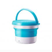 Складная портативная стиральная машина (Синяя)