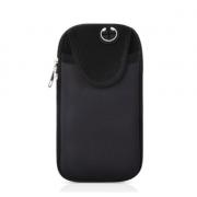 Спортивная сумка для телефона на руку (Черная)