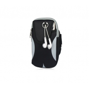 Спортивная сумка для телефона на руку (Серый)