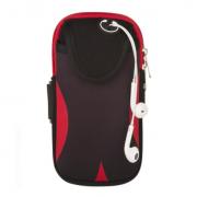Спортивная сумка для телефона на руку (Красная)