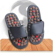 Тапочки рефлекторные Foot Reflex TV-022 размер 40-41 (Черные)