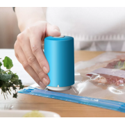 Вакуумный упаковщик для хранения продуктов Always Fresh + 6 пакетов (Голубой)