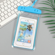 Водонепроницаемый универсальный чехол для телефона (Голубой)