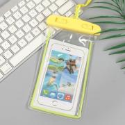Водонепроницаемый универсальный чехол для телефона (Желтый)