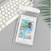 Водонепроницаемый универсальный чехол для телефона (Белый)
