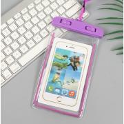 Водонепроницаемый универсальный чехол для телефона (Фиолетовый)
