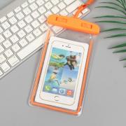Водонепроницаемый универсальный чехол для телефона (Оранжевый)