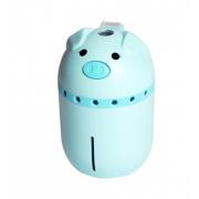 Увлажнитель воздуха Mini Pig со светодиодной подсветкой (Голубой)