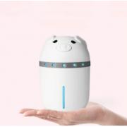 Увлажнитель воздуха Mini Pig со светодиодной подсветкой (Белый)