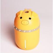 Увлажнитель воздуха Mini Pig со светодиодной подсветкой (Желтый)