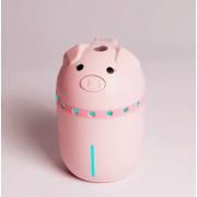 Увлажнитель воздуха Mini Pig со светодиодной подсветкой (Розовый)