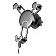 Автомобильный держатель Baseus YY vehicle-mounted phone charging holder with USB cable (Type-C Version) SUTYY-01 (Черный)