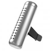 Автомобильный ароматизатор Baseus Horizontal Chubby Car Air Freshener SUXUN-PDC0S (Серебристый)