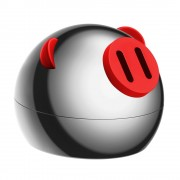 Автомобильный ароматизатор Baseus Little Fragrant Pig Fragrance Holder SUXUN-XZ01 (Черный)