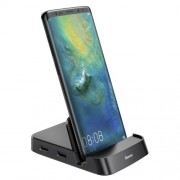 Док-станция Baseus Mate Docking Type-C mobile phone intelligent HUB docking station CAHUB-AT01 (Черный)
