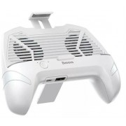 Геймпад-триггер Baseus Cool Play Games Dissipate-heat Hand Handle ACSR-CW02 (Белый)