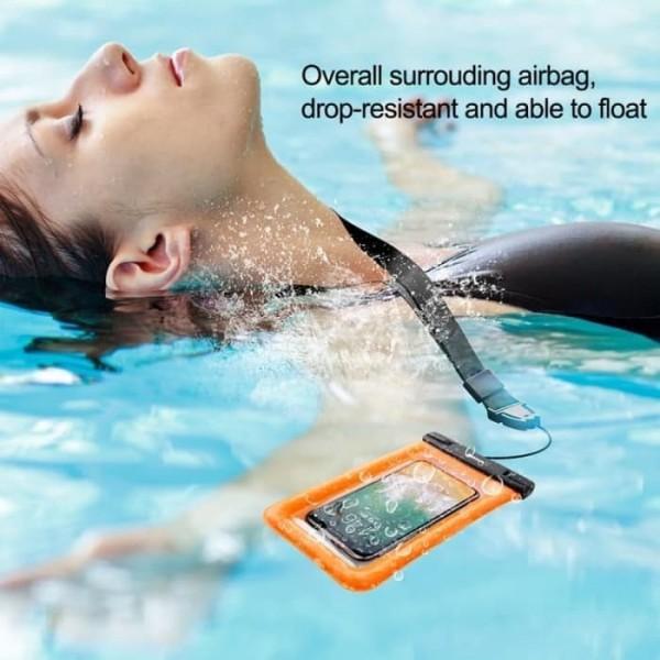 Водонепроницаемый чехол Baseus Air cushion Waterproof bag ACFSD-A03 (Синий)