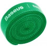 Органайзер проводов Baseus Rainbow Circle Velcro Straps 1m ACMGT-E06 (Зеленый)