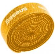 Органайзер проводов Baseus Rainbow Circle Velcro Straps 1m ACMGT-E0Y (Желтый)