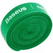 Органайзер проводов Baseus Rainbow Circle Velcro Straps 3m ACMGT-F06 (Зеленый)